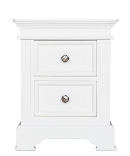 Annecy 2 Drawer Bedside