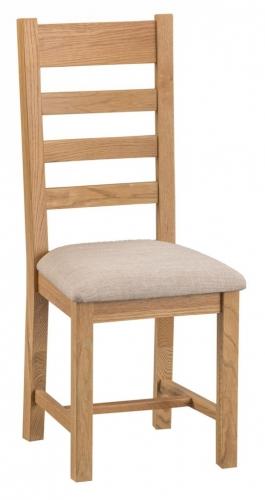 Granby Oiled Ladder Back Chair