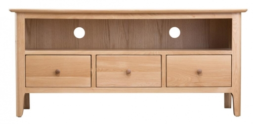 Newby Light Oak Large Tv Cabinet