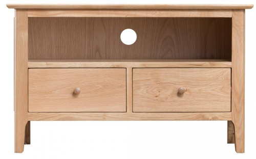 Newby Light Oak Small Tv Cabinet