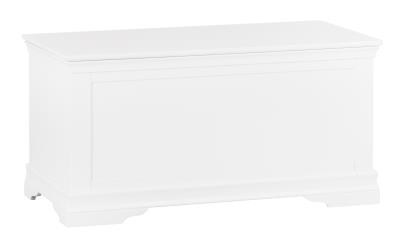 Thirlby Classic Painted White Blanket Box