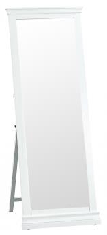 Thirlby Classic Painted White Cheval Mirror
