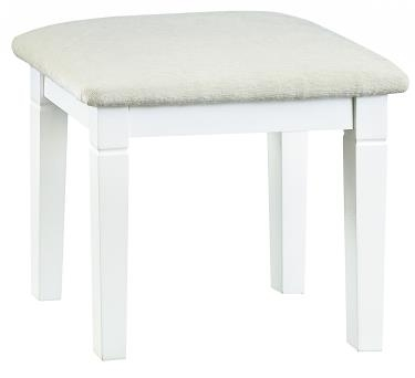 Thirlby Classic Painted White  Dressing Table Stool