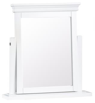 Thirlby Classic Painted White Dressing Table Mirror