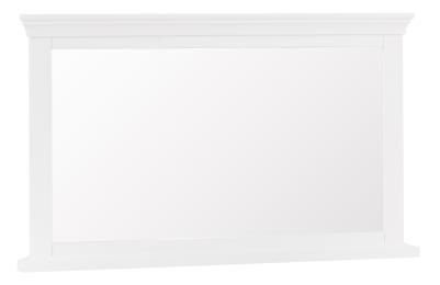 Thirlby Classic Painted White Wall Mirror