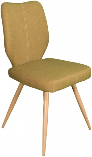 Stockholm Curved Back Dining Chair Green