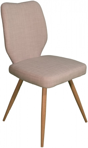 Stockholm Curved Back Dining Chair Ivory