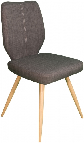 Stockholm Curved Back Dining Chair Slate