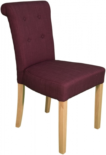 Karo Plum Dining Chair
