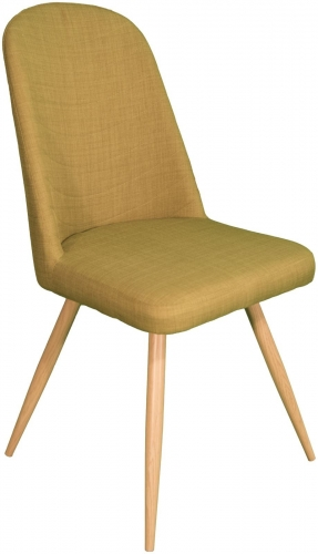 Stockholm High Back Dining Chair Green