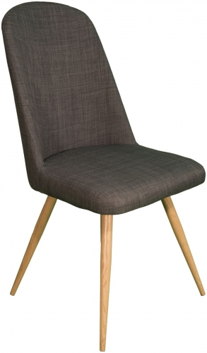 Stockholm High Back Dining Chair Slate
