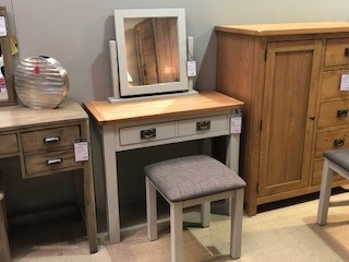 Devon 2 Drawer Dressing Table