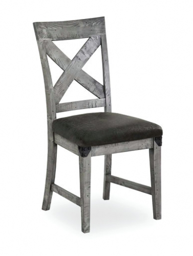 Seattle Industrial Cross Back Dining Chair