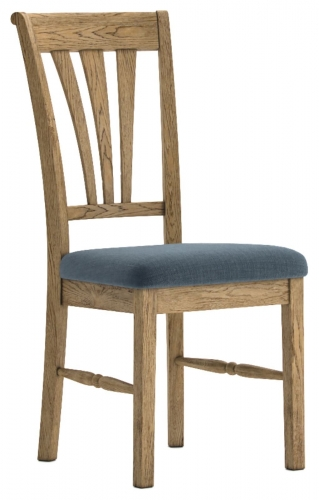 Biarritz French Oak Dining Chair with Slate Seat