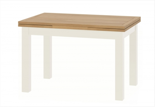 Brompton White Drawerleaf Dining Table