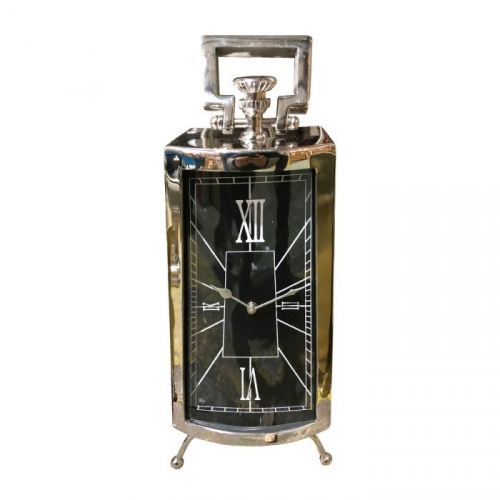 Mansell Carriage Mantel Clock - Nickel