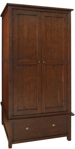 Melrose Reclaimed Pine Gents Wardrobe