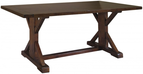 Melrose Reclaimed Pine Refectory Dining Table