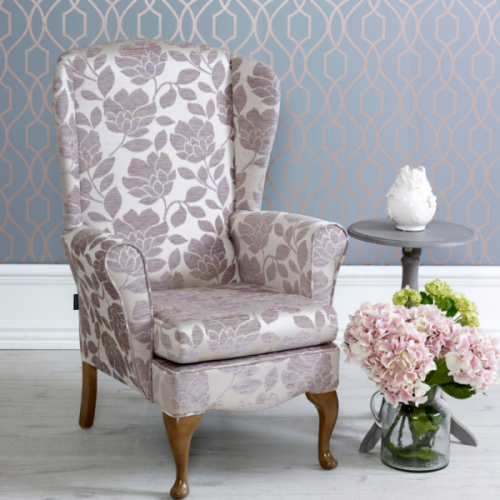 Cornwall Wing Back Chair & Footstool