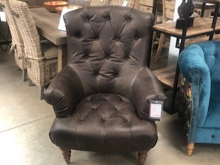 Grace Accent Chair - Cal Smoke