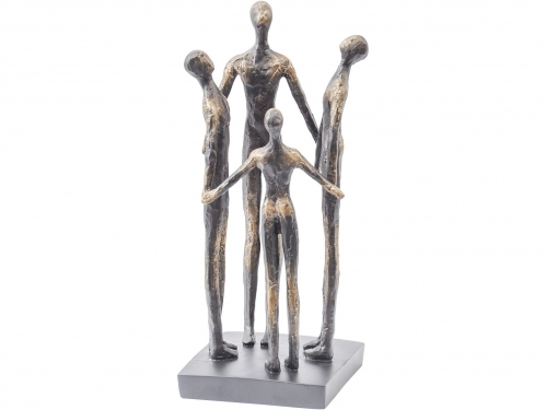 Family Circle Resin Sculpture