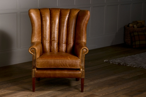 Fluted Wing Armchair