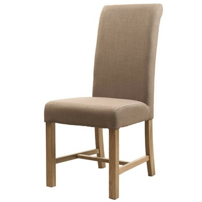 Highgrove Fabric Dining Chair - Latte