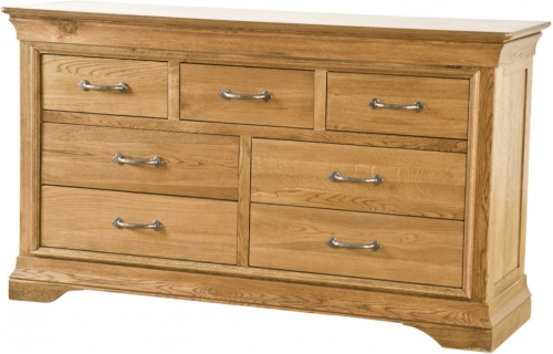 Rochelle French Oak 3 Over 4 Chest