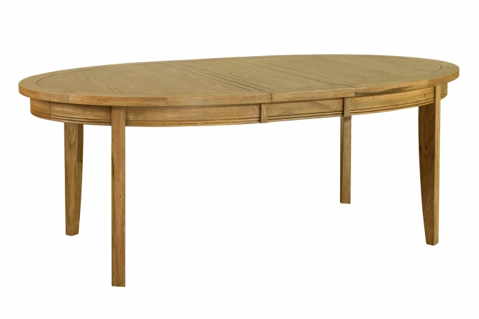 Rochelle French Oak Oval Extending Table