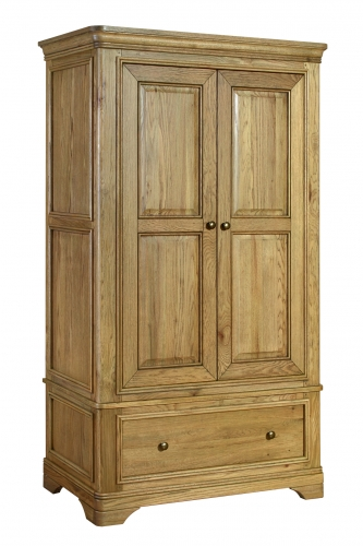 Rochelle French Oak Double Wardrobe