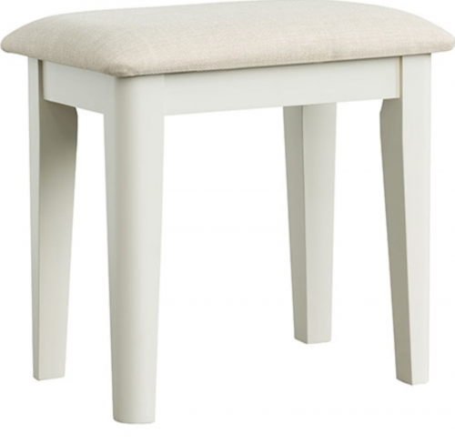 Rochelle Painted French Oak Dressing Table Stool