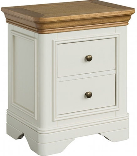 Rochelle Painted French Oak Bedside