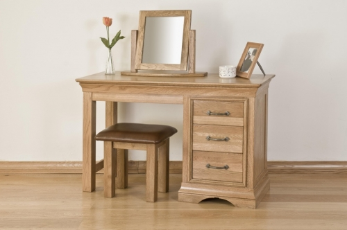 Rochelle French Oak Dressing Table Mirror