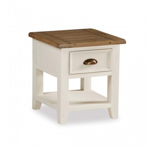 Runswick Painted Lamp Table