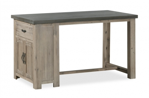 Cleveland Acacia & Concrete Bar Table
