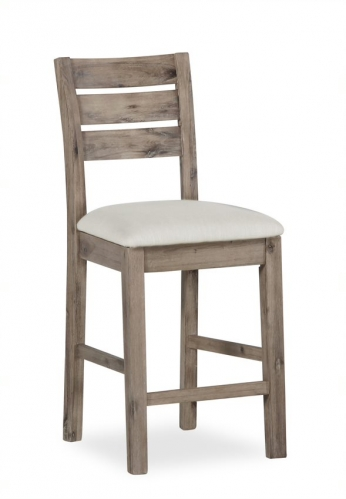 Cleveland Acicia & Concrete Bar Stool