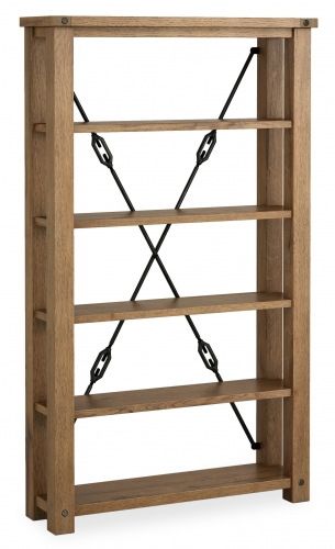 Forge Oak Display Cabinet