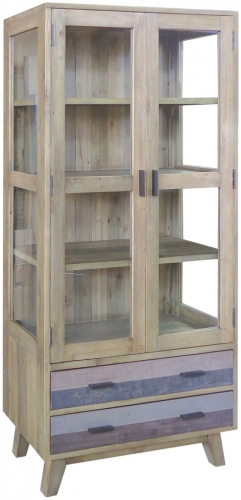 Old Mill Reclaimed Glazed Display Unit