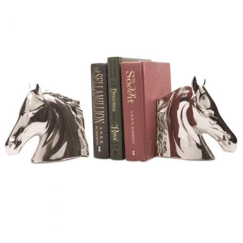 Pair of Horse Head Bookends