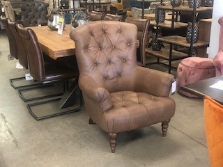 Grace Accent Chair - Indiana Tan