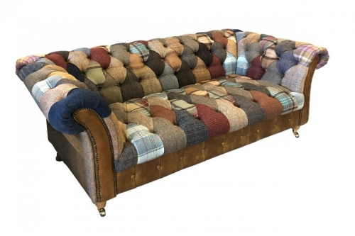 Bretby Patchwork 2 Seat Sofa