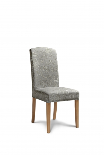 Amore Fabric Dining Chair in Dove