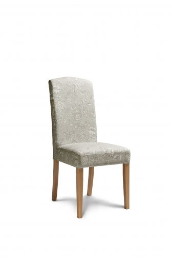 Amore Fabric Dining Chair in Linen