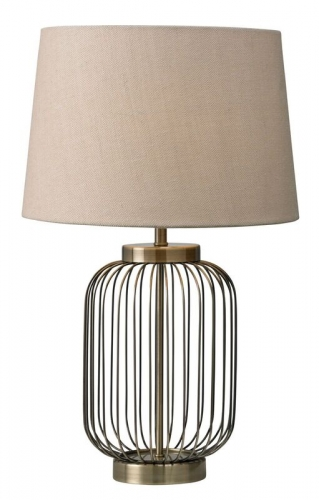 Nicholas Table Lamp Antique Brass