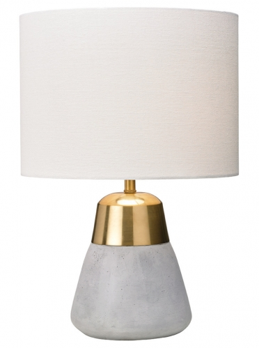 Jasper Table Lamp Gold/Ivory