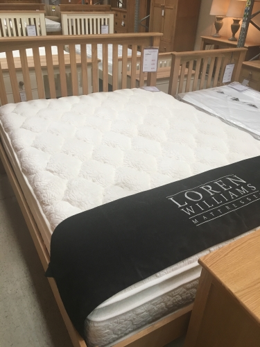 Loren Williams Ultimate 2400 Pocket Sprung Mattress 4'6