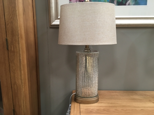 Sparkling Gold Lamp