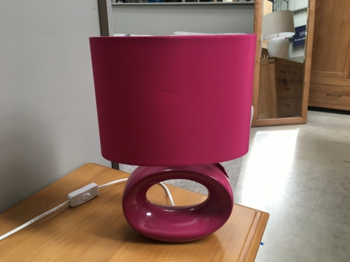 Pink Small Lamp