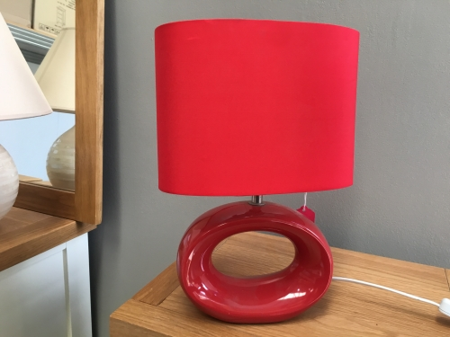 Small Red Lamp