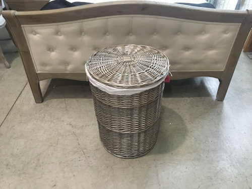 Large Round Laundry Basket